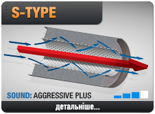 S-Type Technology - Sound: AGGRESSIVE PLUS